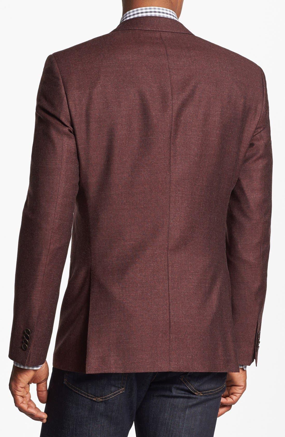 Alternate Image 3  - BOSS HUGO BOSS 'Hutch' Trim Fit Wool Blazer