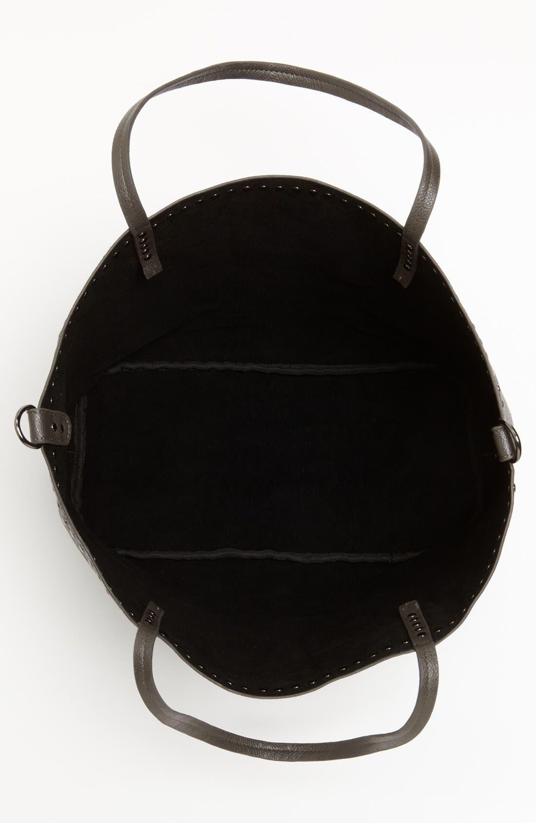 Alternate Image 3  - NB Handbags Studded Faux Leather Tote (Juniors)