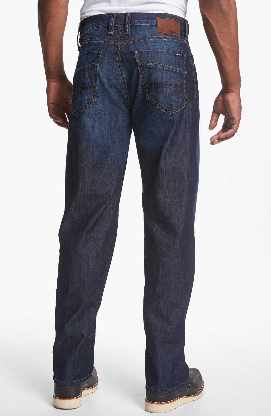 Main Image - Mavi Jeans 'Max' Relaxed Jeans (Rinse Arizona Comfort) (Online Only)