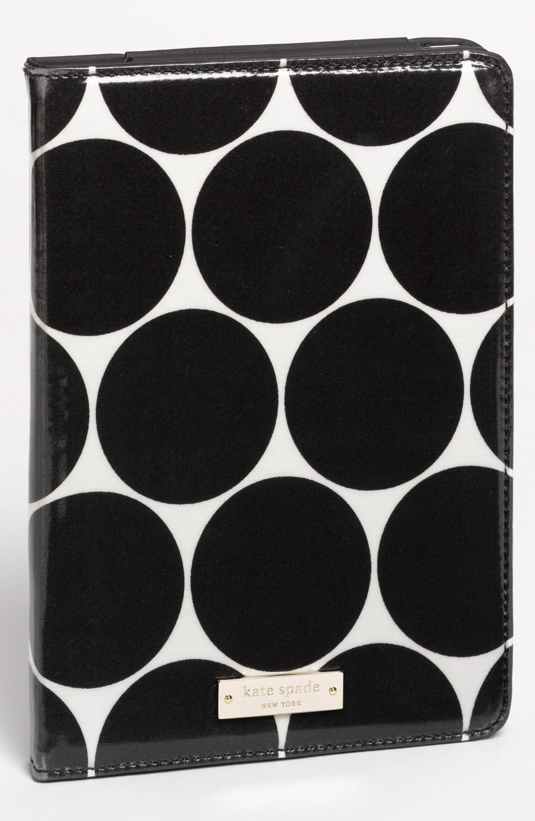 Main Image - kate spade new york 'deborah dot' iPad mini™ folio