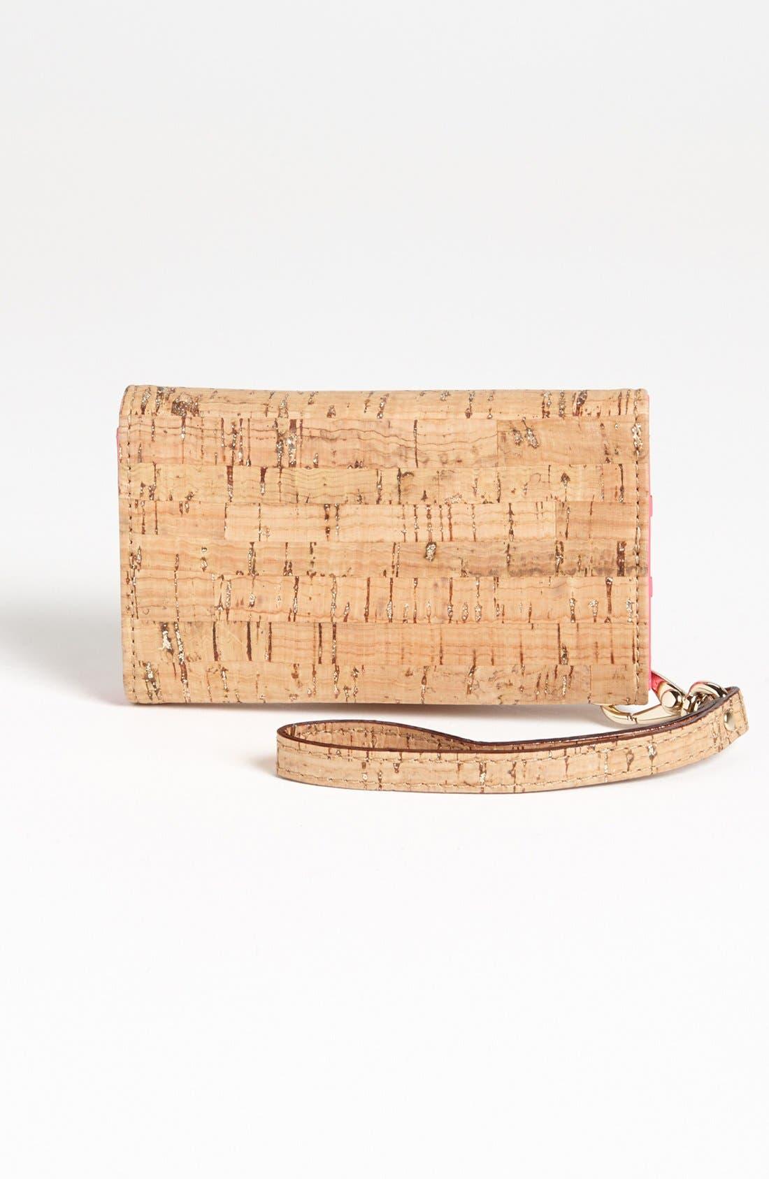 Alternate Image 3  - kate spade new york 'summer cork' iPhone 5 & 5S wristlet