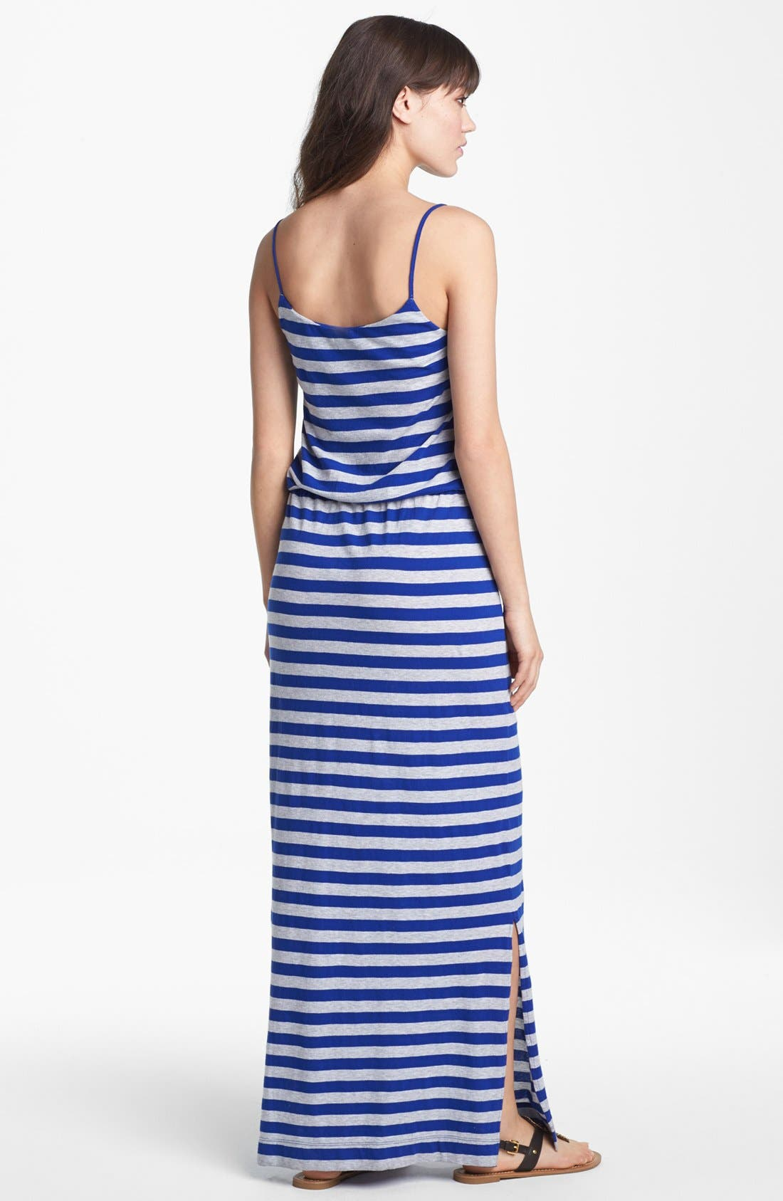 Alternate Image 2  - French Connection 'Totem' Stripe Jersey Maxi Dress