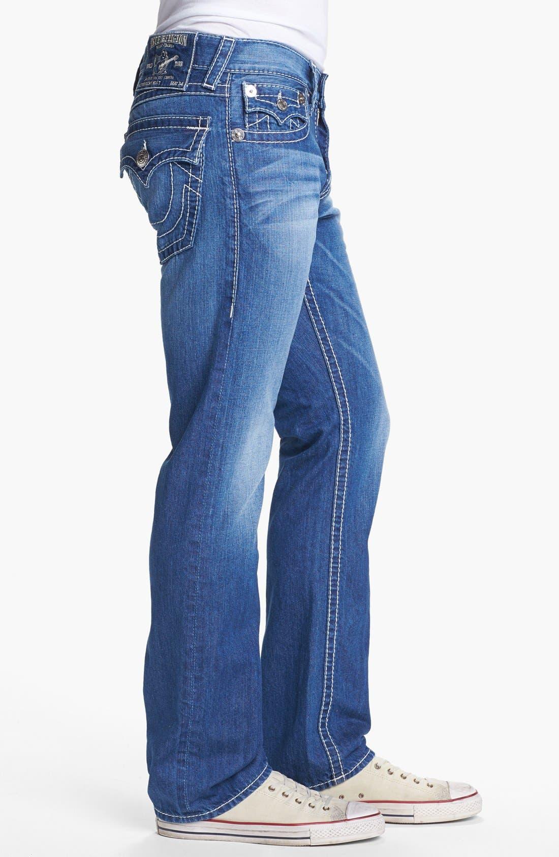 Alternate Image 3  - True Religion Brand Jeans 'Ricky' Straight Leg Jeans (Voyager)