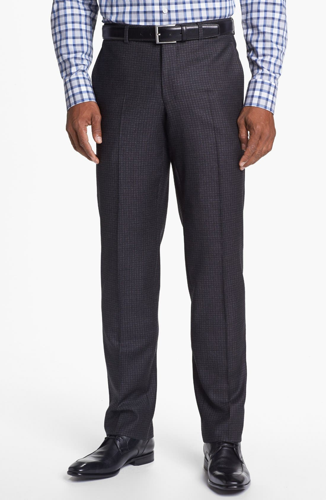 Alternate Image 5  - Ted Baker London 'Jones' Trim Fit Check Suit (Online Only)