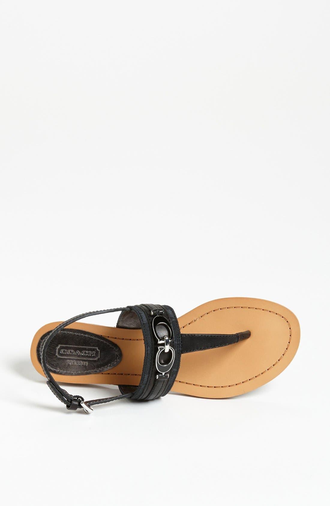 Alternate Image 2  - COACH 'Sammy' Sandal