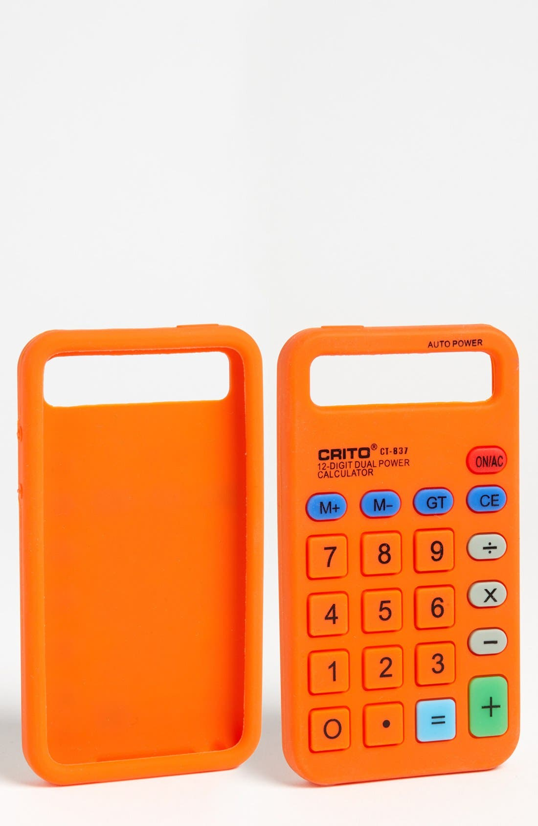 Alternate Image 1 Selected - ICover 'Calculator' iPod Touch 4 Case
