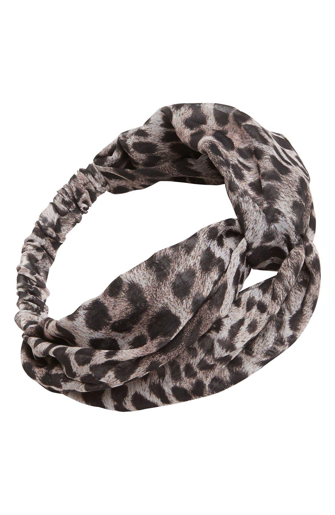 Main Image - Eugenia Kim 'Penny' Animal Print Head Wrap