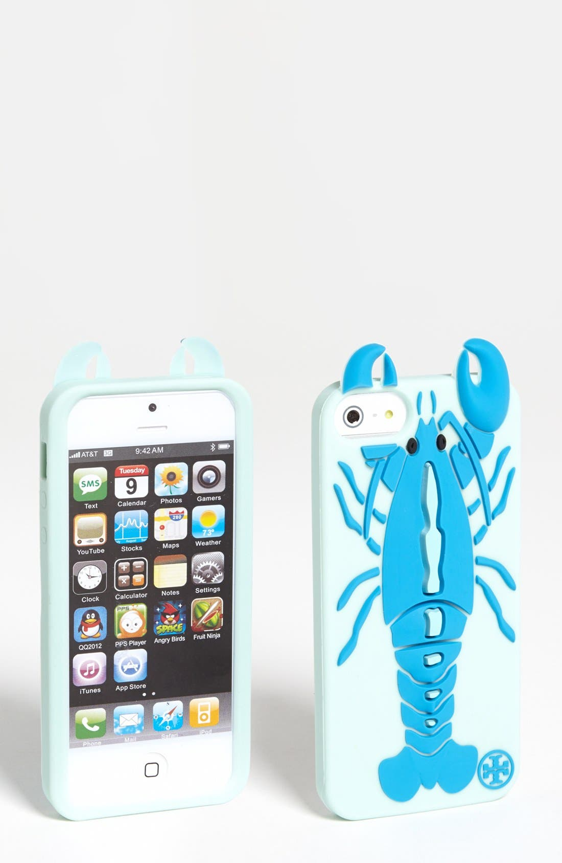Alternate Image 1 Selected - Tory Burch 'Lobster' iPhone 5 Case