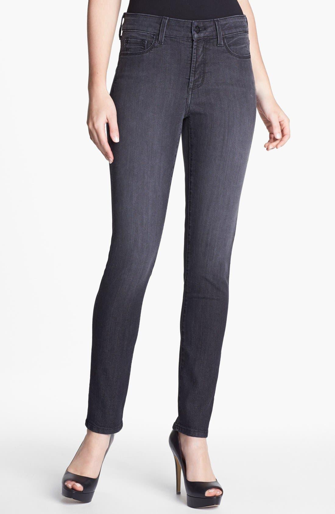 Alternate Image 1 Selected - NYDJ 'Alina' Stretch Skinny Jeans