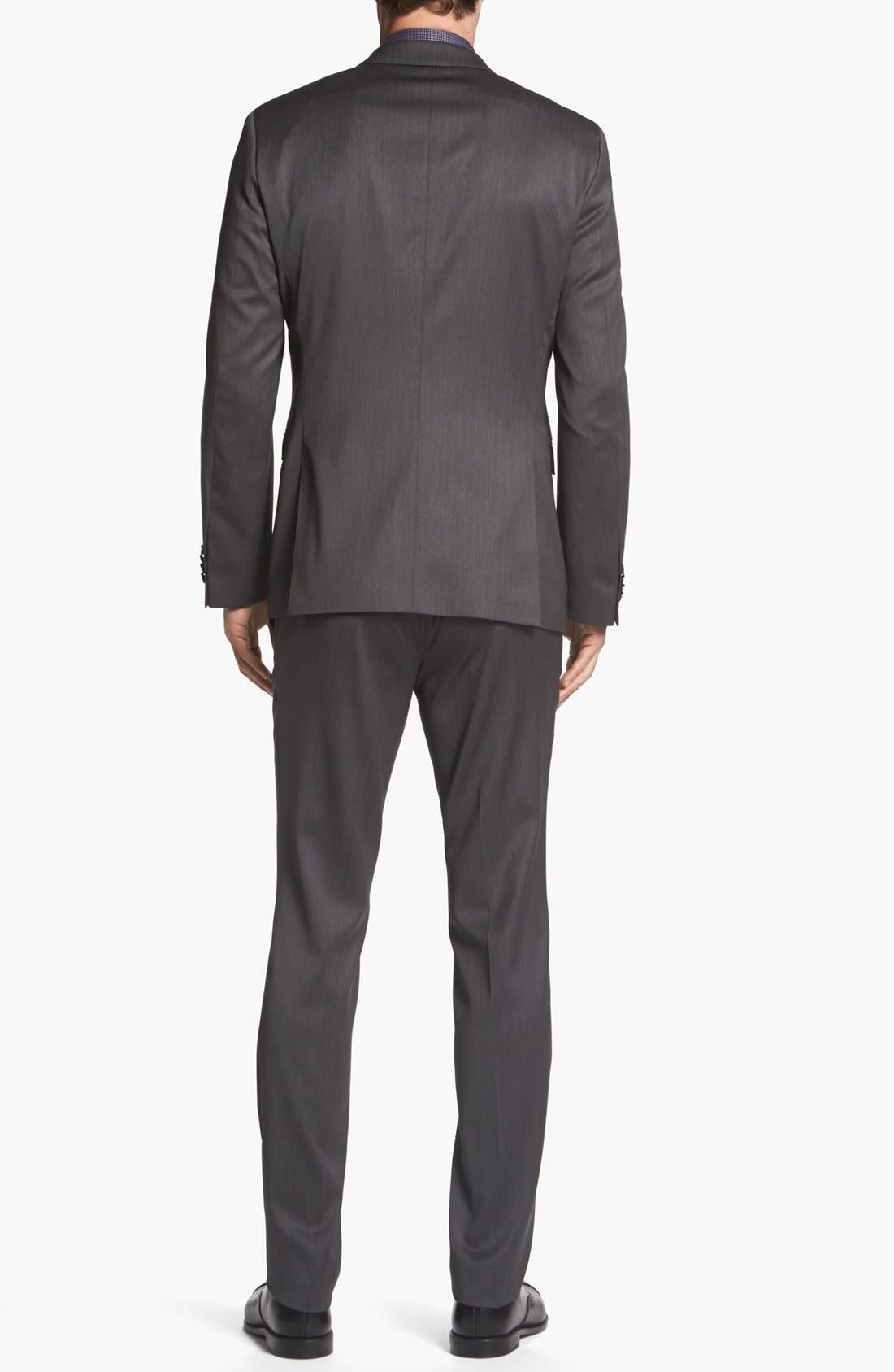 Alternate Image 3  - BOSS HUGO BOSS 'Ryan/Win' Extra Trim Fit Suit