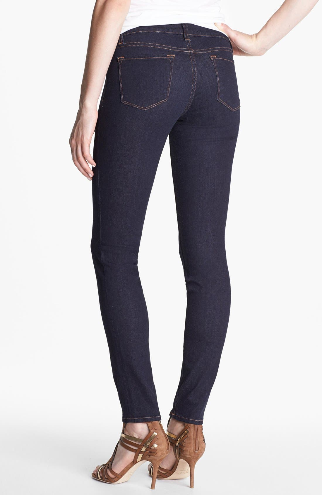 Alternate Image 2  - J Brand '901' Stretch Denim Leggings (Starless Wash)
