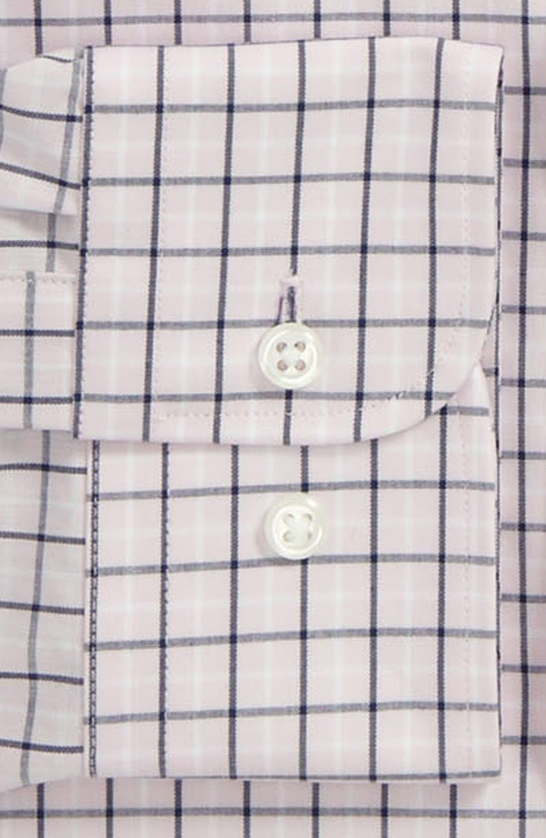 Alternate Image 2  - Nordstrom Trim Fit Non-Iron Shirt (Online Only)