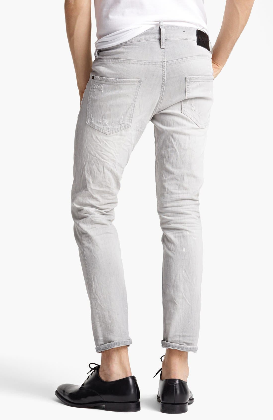 Alternate Image 2  - Dsquared2 'Cool Guy' Skinny Fit Jeans (Grey)