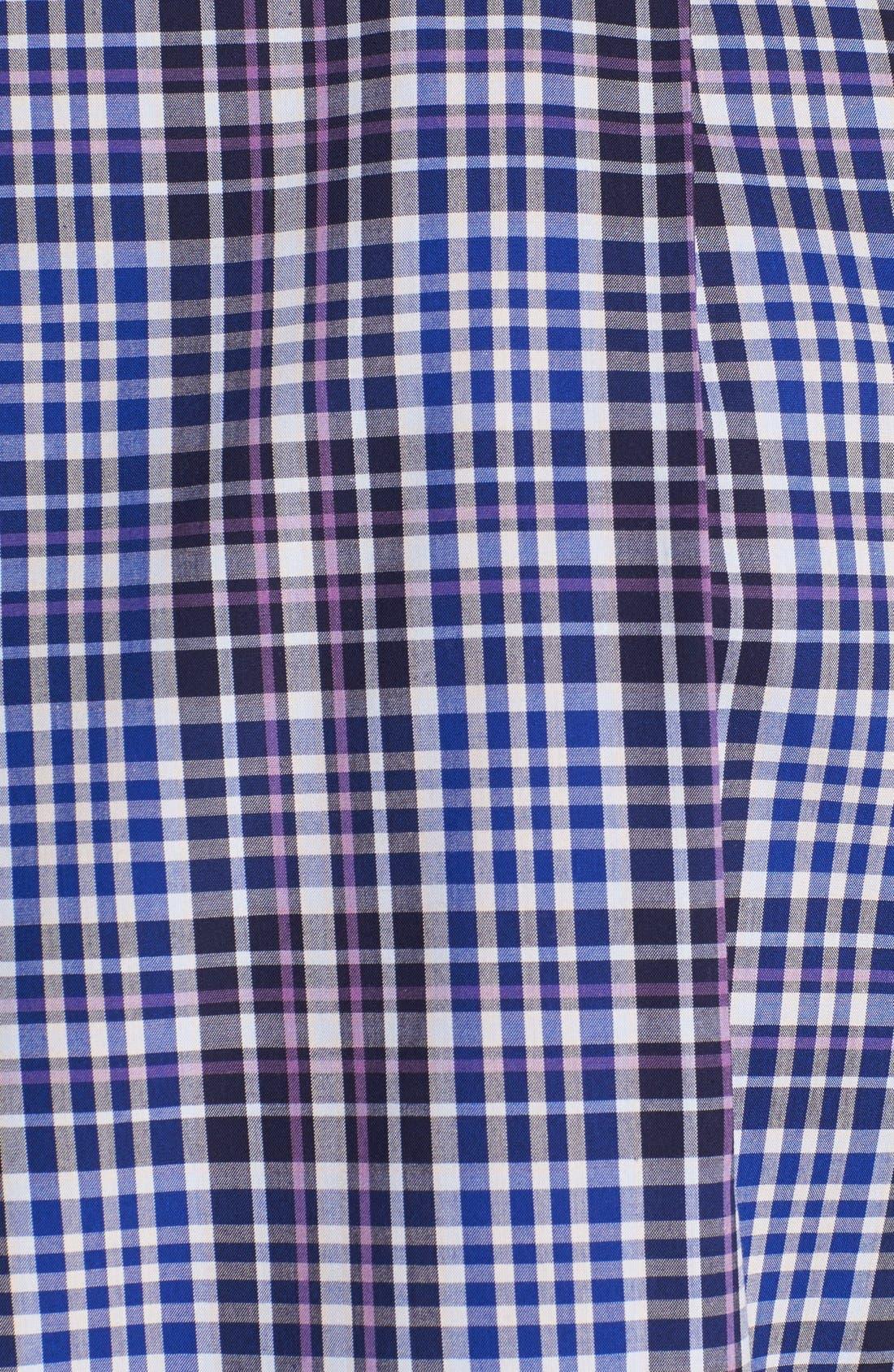 Alternate Image 3  - Nordstrom Smartcare™ Regular Fit Poplin Sport Shirt