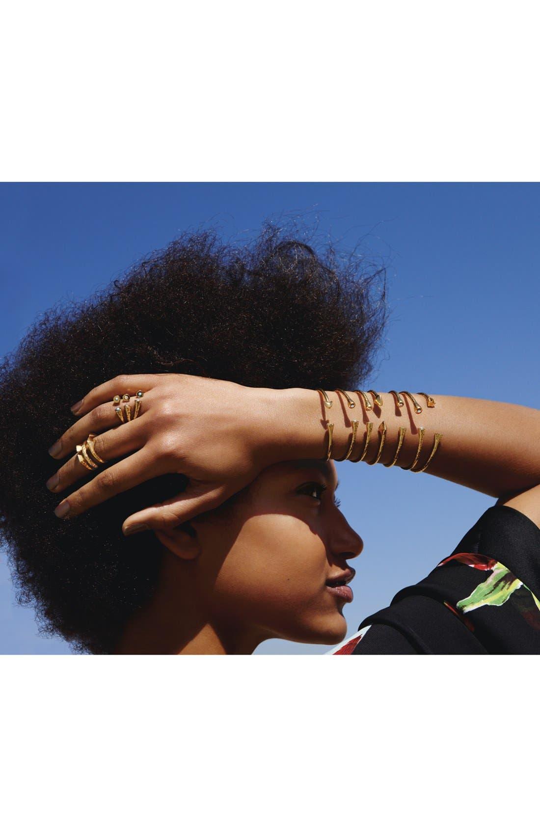 Alternate Image 2  - Melinda Maria 'Nailhead - Penny' Stackable Rings (Set of 3) (Nordstrom Exclusive)