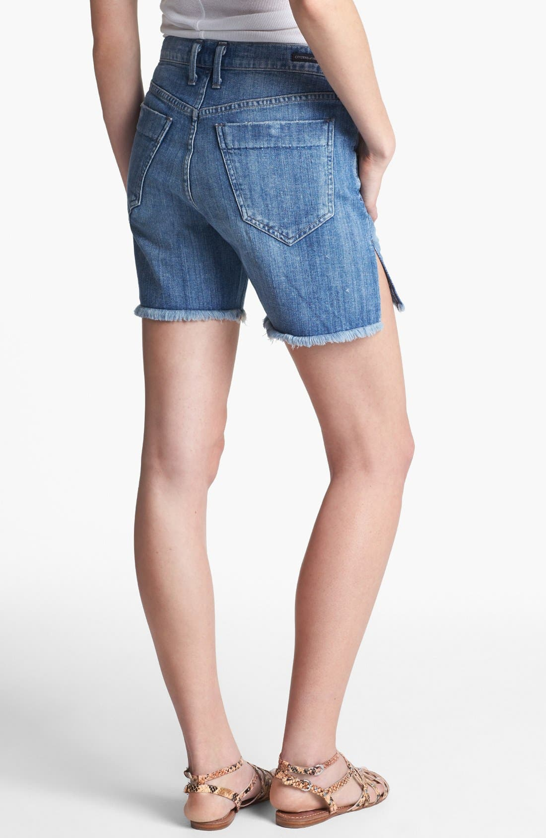 Alternate Image 2  - Citizens of Humanity 'Ines' Cutoff Shorts (Heirloom)