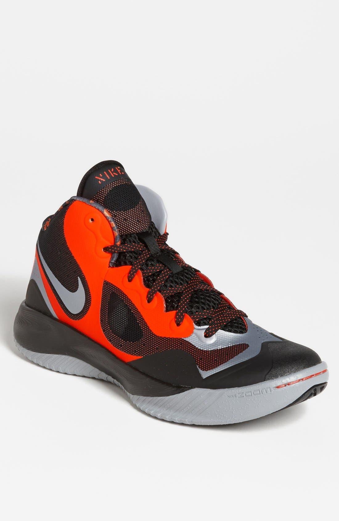 Alternate Image 1 Selected - Nike 'Zoom HyperFranchise XD' Basketball Shoe (Men)
