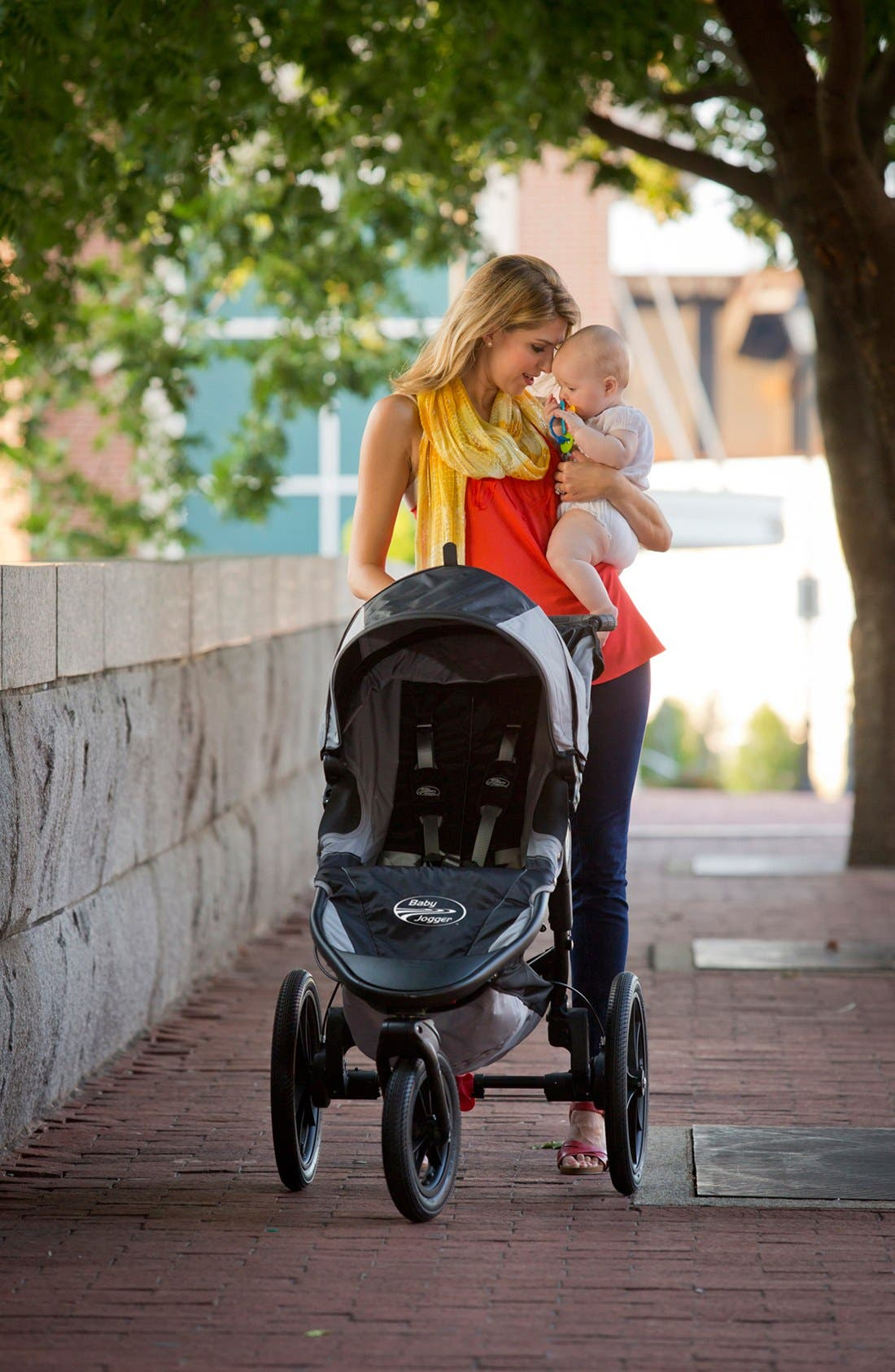 Alternate Image 2  - Baby Jogger 'Summit X3' Single Jogging Stroller