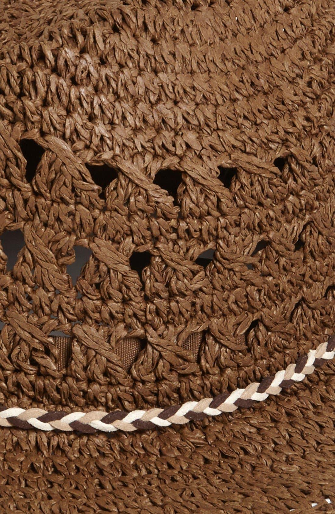 Alternate Image 2  - Tarnish Crochet Cowboy Hat