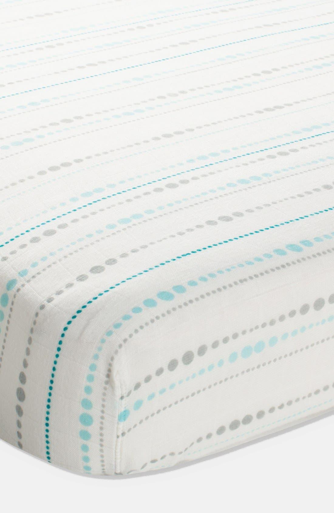 Alternate Image 1 Selected - aden + anais Crib Sheet