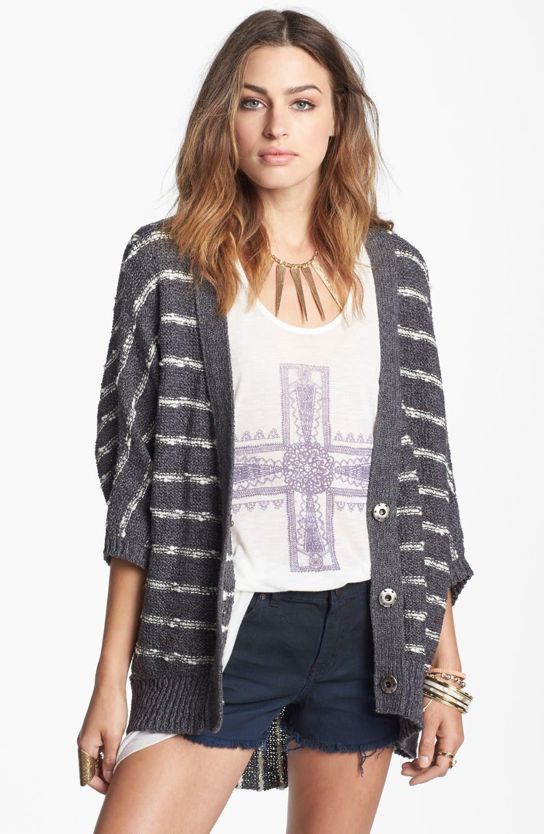 Alternate Image 1 Selected - Free People 'Rabbit Moon' Cardigan