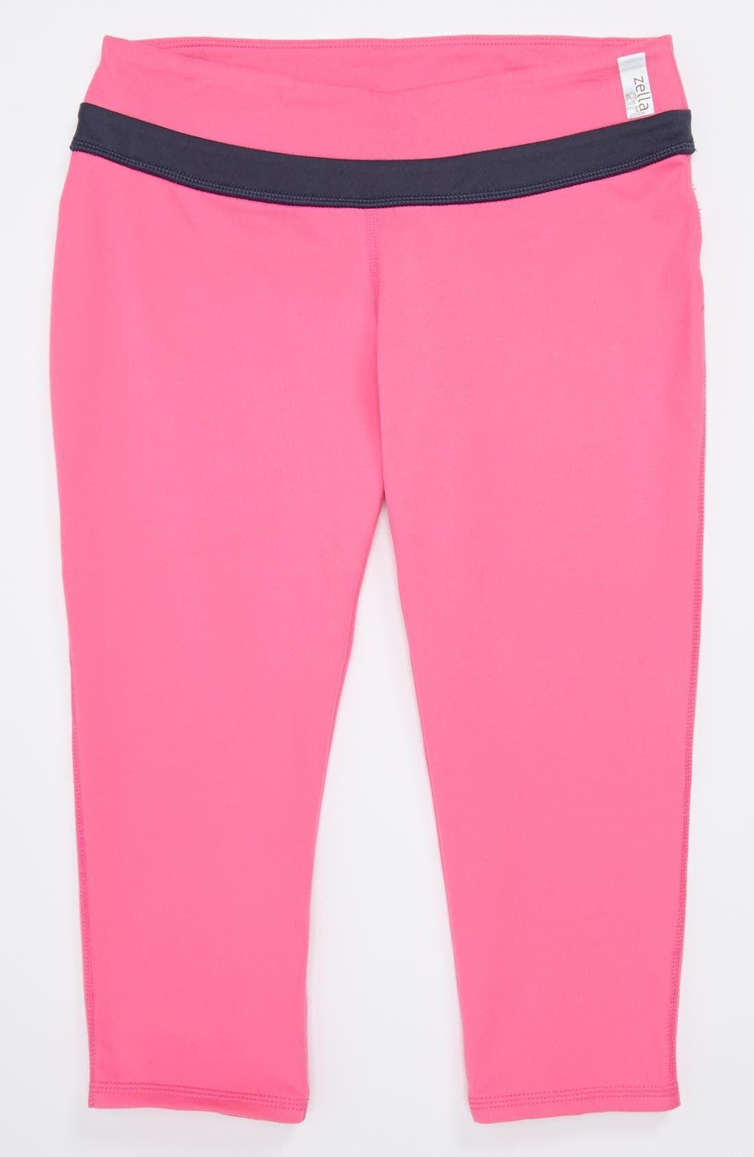 Alternate Image 1 Selected - Zella Girl 'Trainer' Capri Pants (Little Girls & Big Girls)