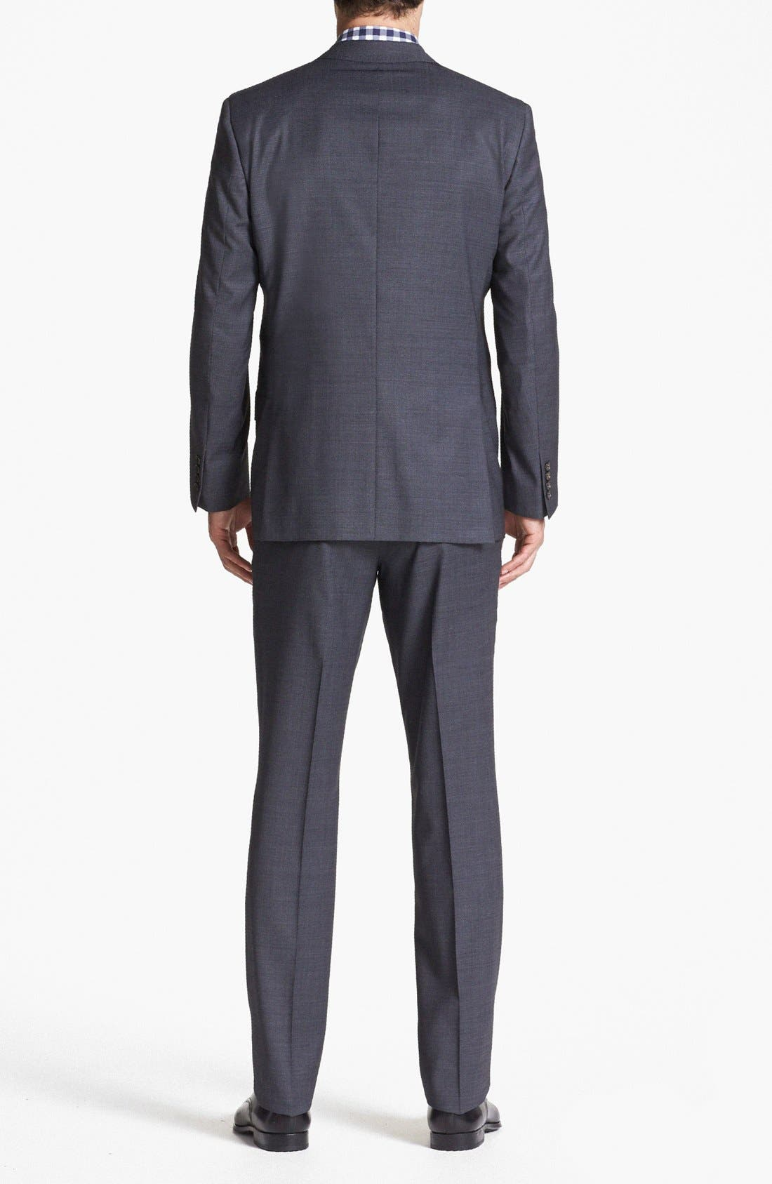 Alternate Image 2  - Ted Baker London Jones Trim Fit Wool Suit