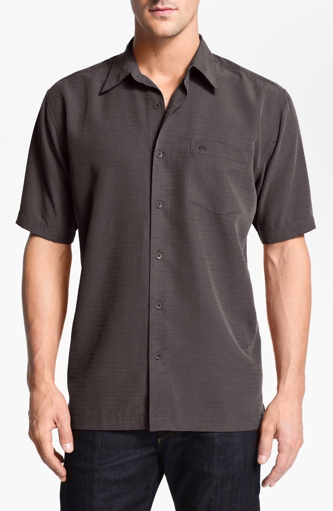 Main Image - Quiksilver Waterman Collection 'Centinella' Regular Fit Sport Shirt