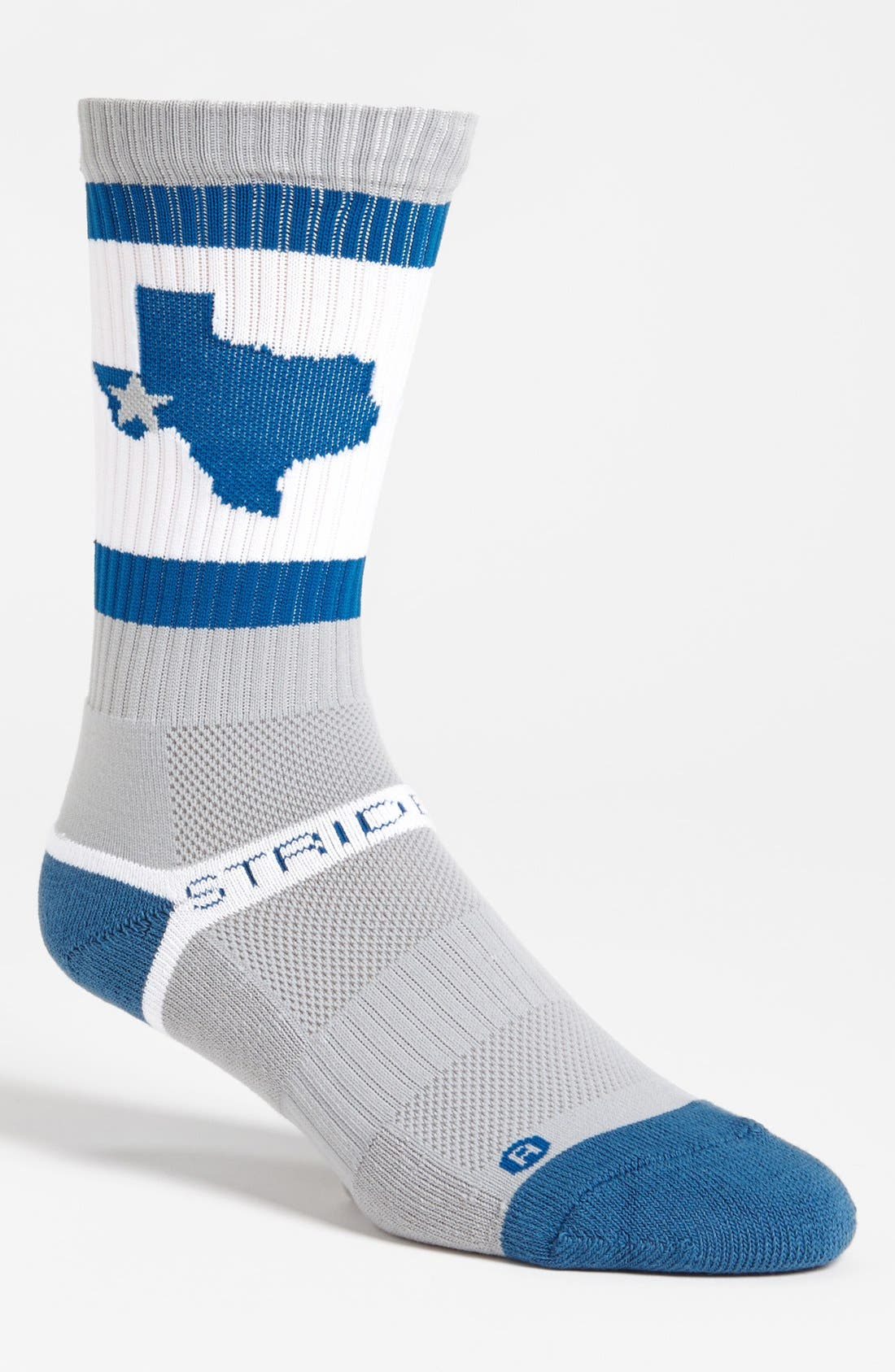 Alternate Image 1 Selected - STRIDELINE 'Texas' Socks