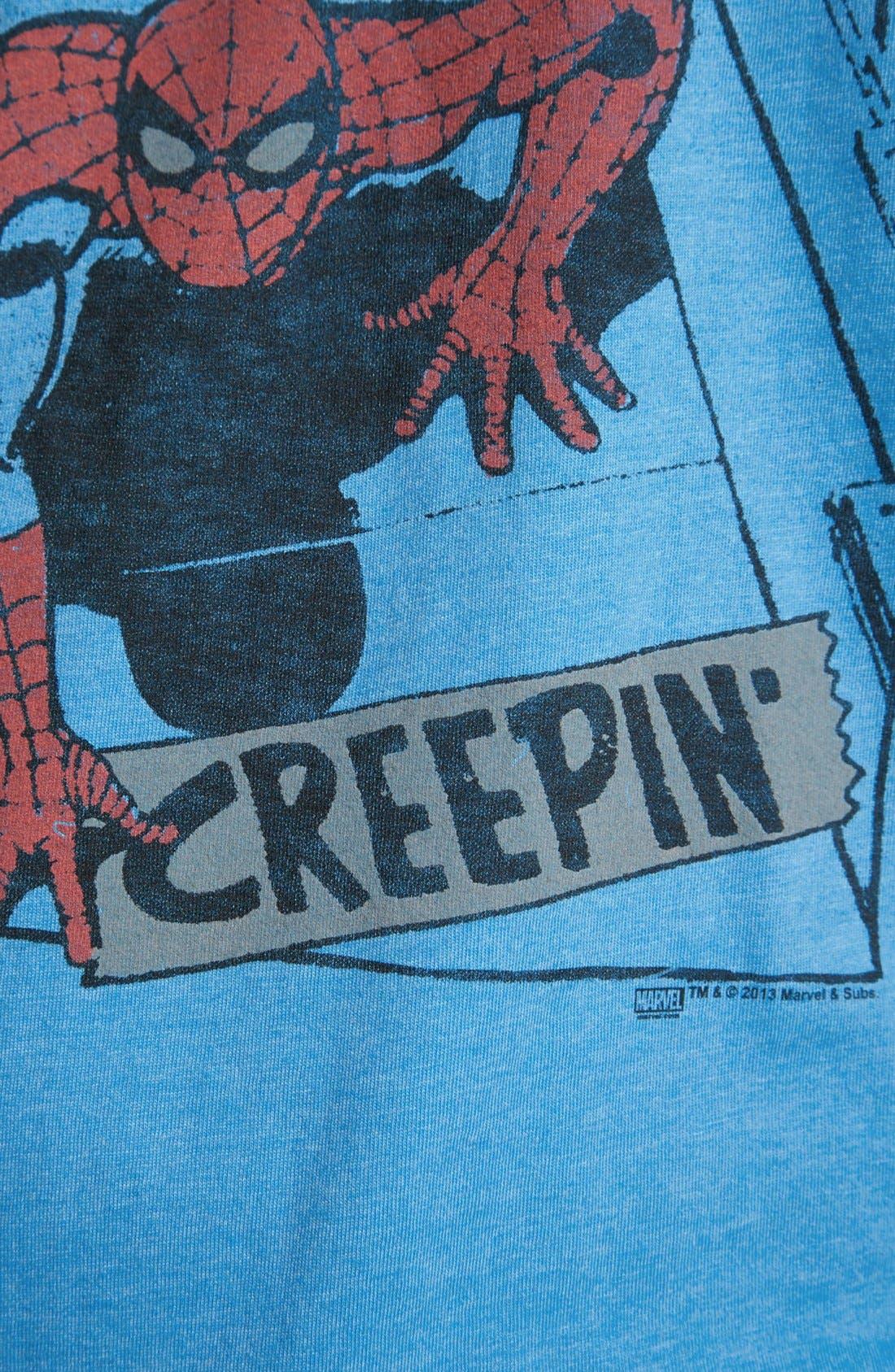 Alternate Image 3  - Junk Food 'Spider-Man®' T-Shirt