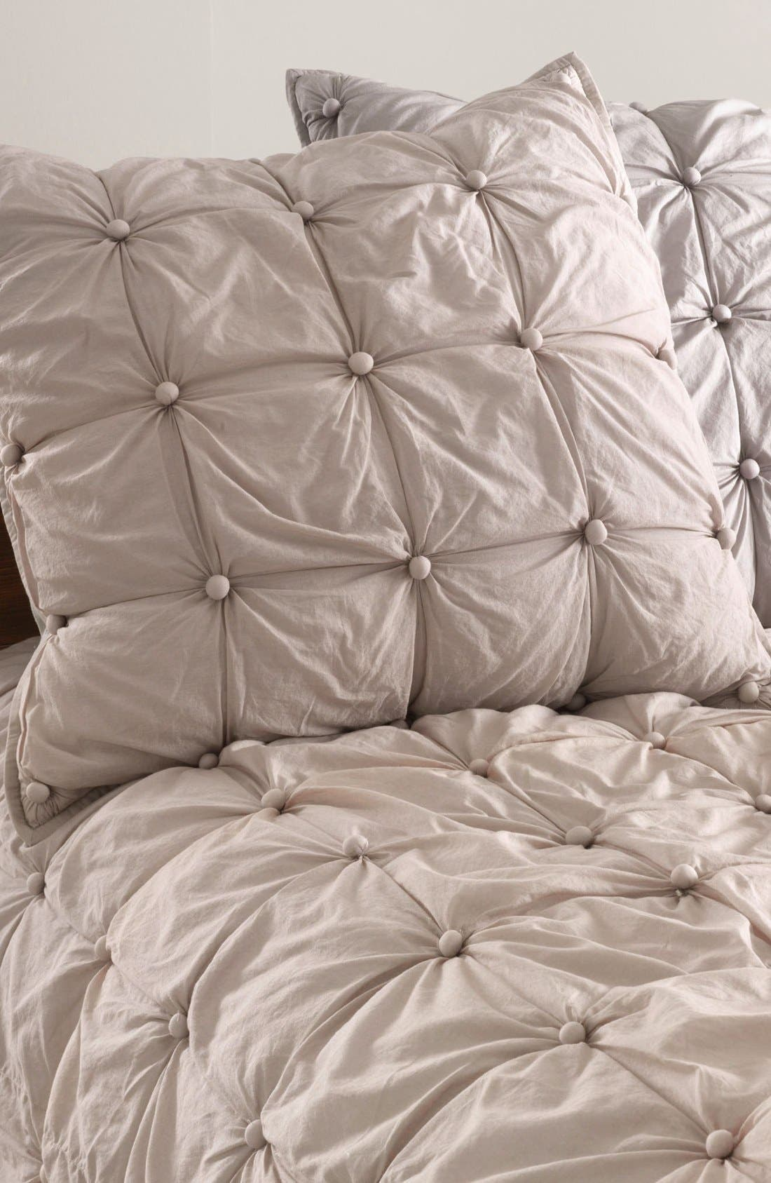 Alternate Image 1 Selected - Nordstrom at Home 'Pom Squares' Euro Sham