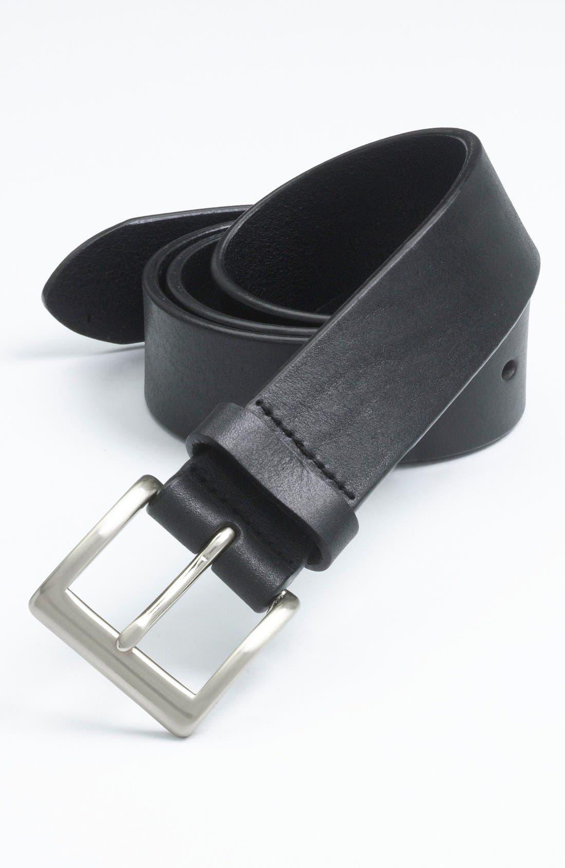 Alternate Image 1 Selected - Trafalgar 'Sportivo' Leather Belt