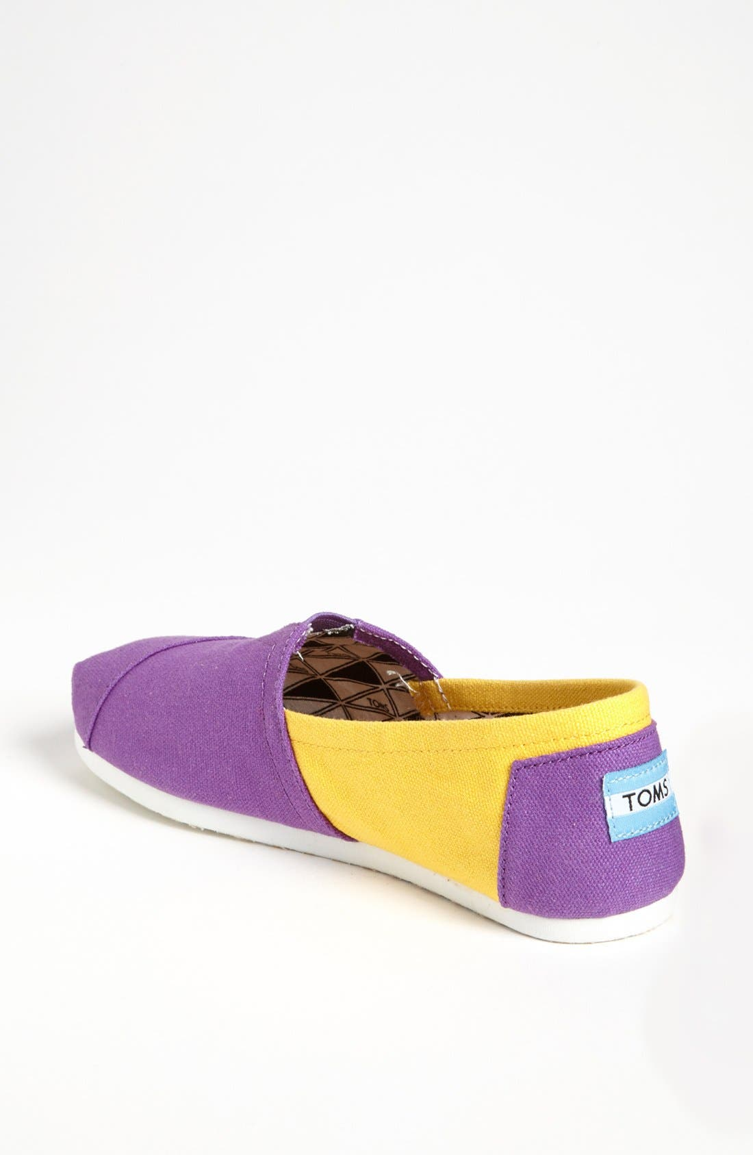 Alternate Image 2  - TOMS 'Campus Classics - Louisiana State' Slip-On (Women)