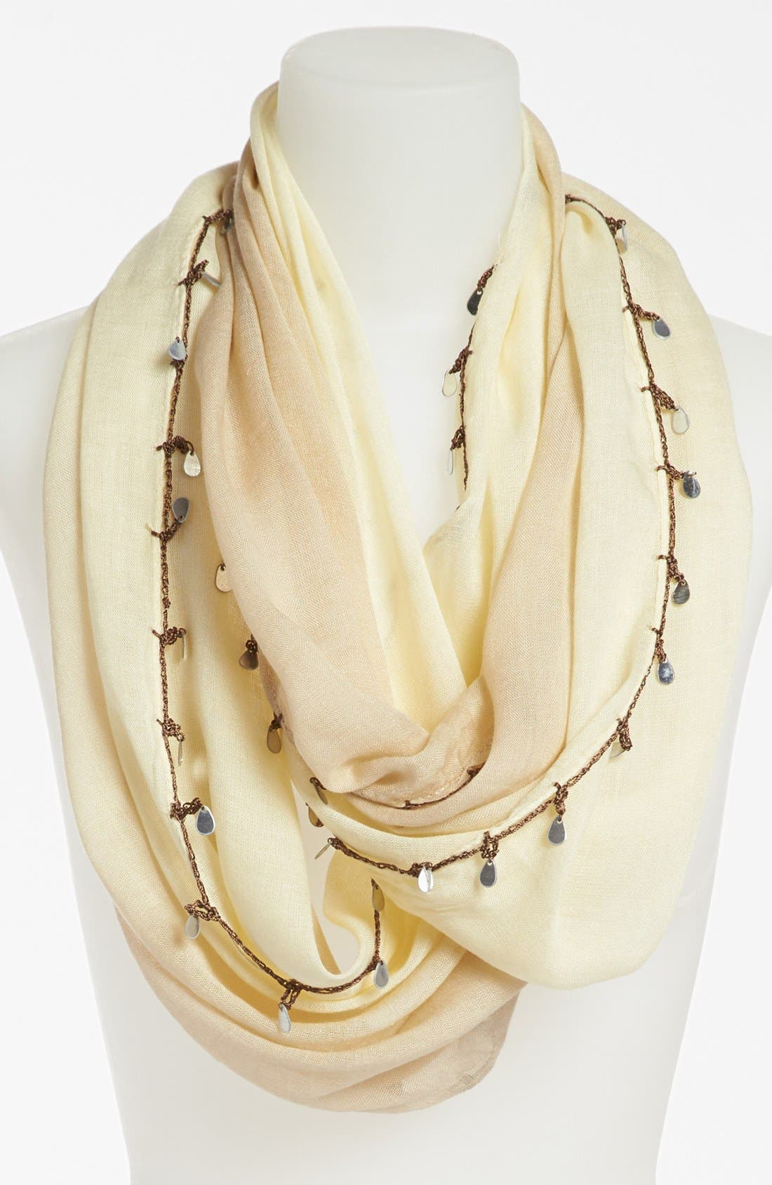 Alternate Image 1 Selected - Collection XIIX Mirror Trim Infinity Scarf