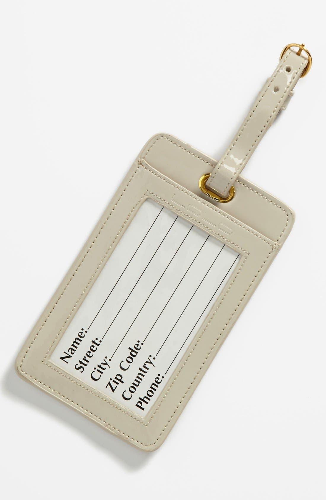 Alternate Image 2  - Lolo 'Question Mark' Luggage Tag