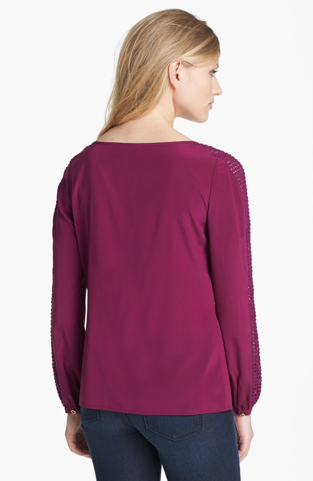 Alternate Image 2  - Tory Burch 'Lillian' Silk Top
