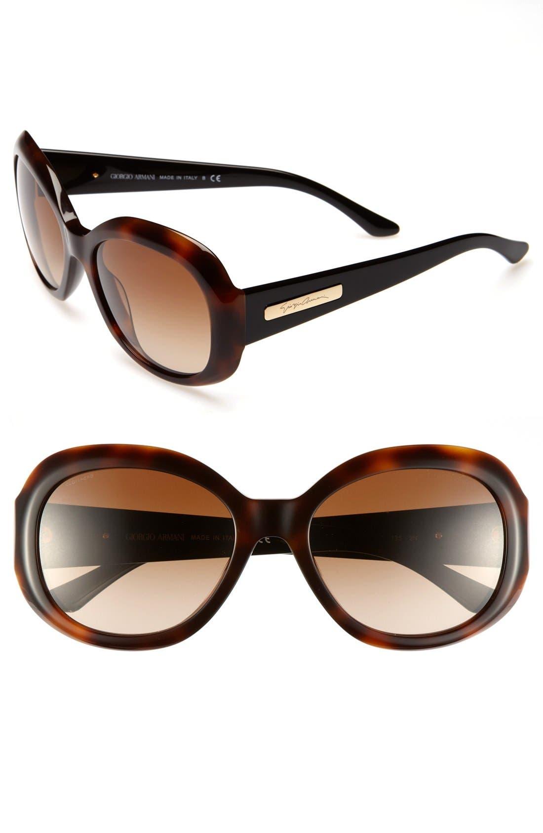 Alternate Image 1 Selected - Giorgio Armani 56mm Sunglasses