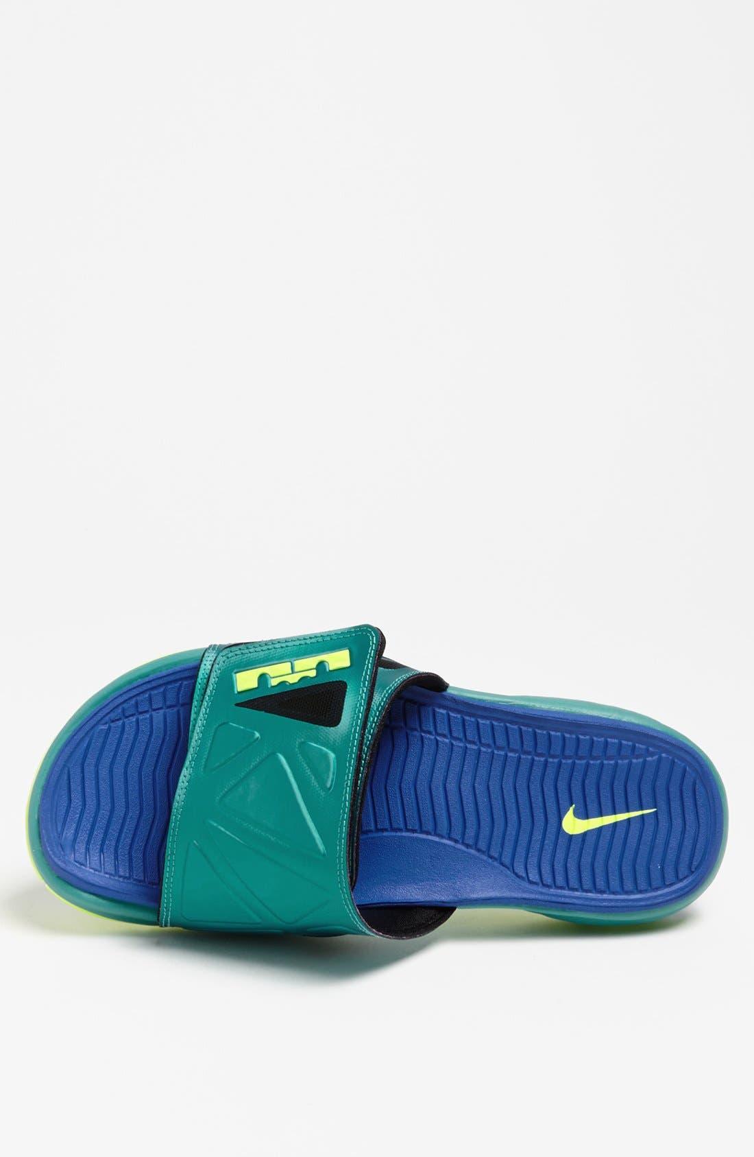 Alternate Image 3  - Nike 'Air LeBron 2 Slide Elite' Sandal (Men)