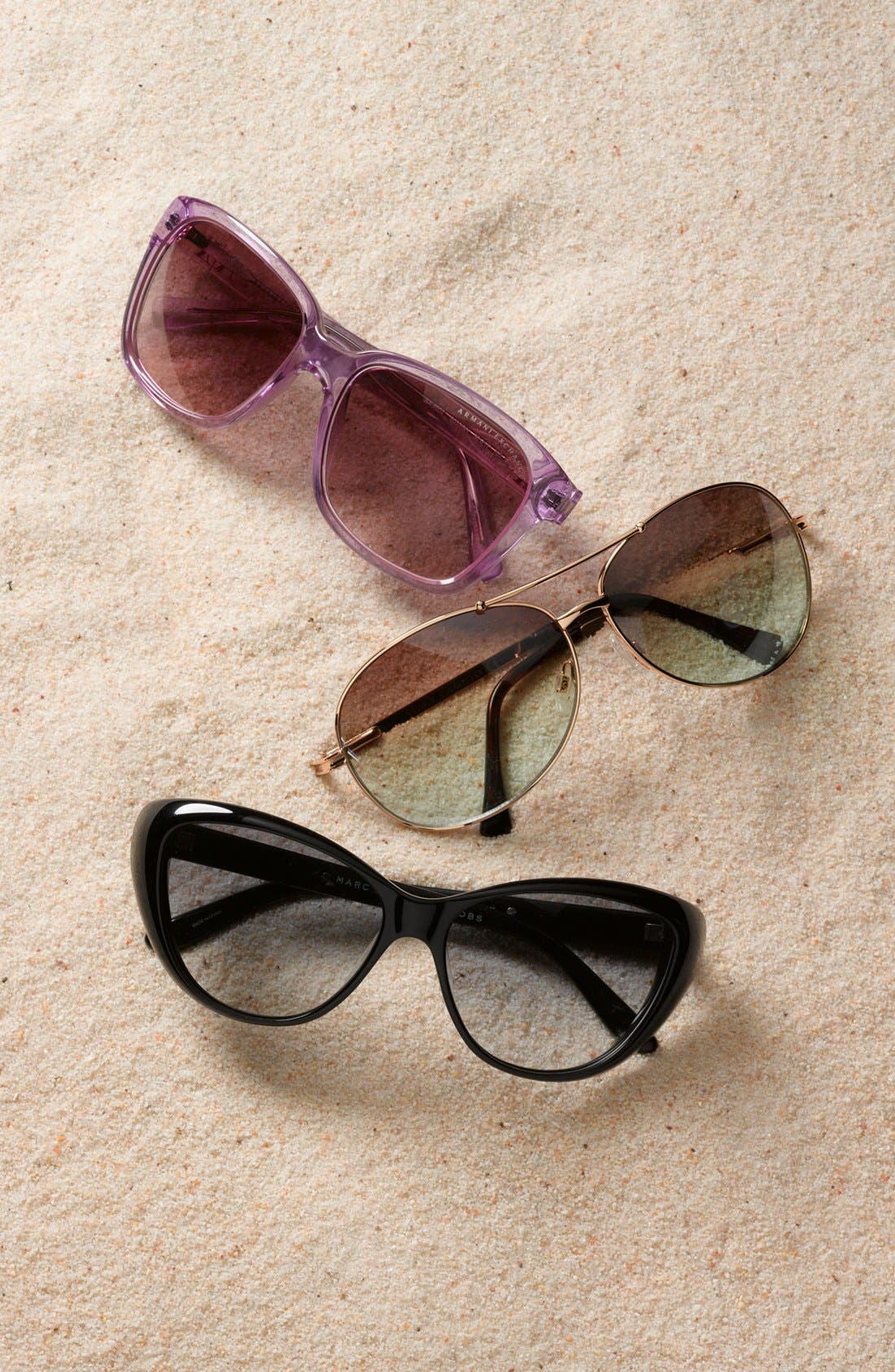 Alternate Image 2  - AX Armani Exchange 56mm Sunglasses