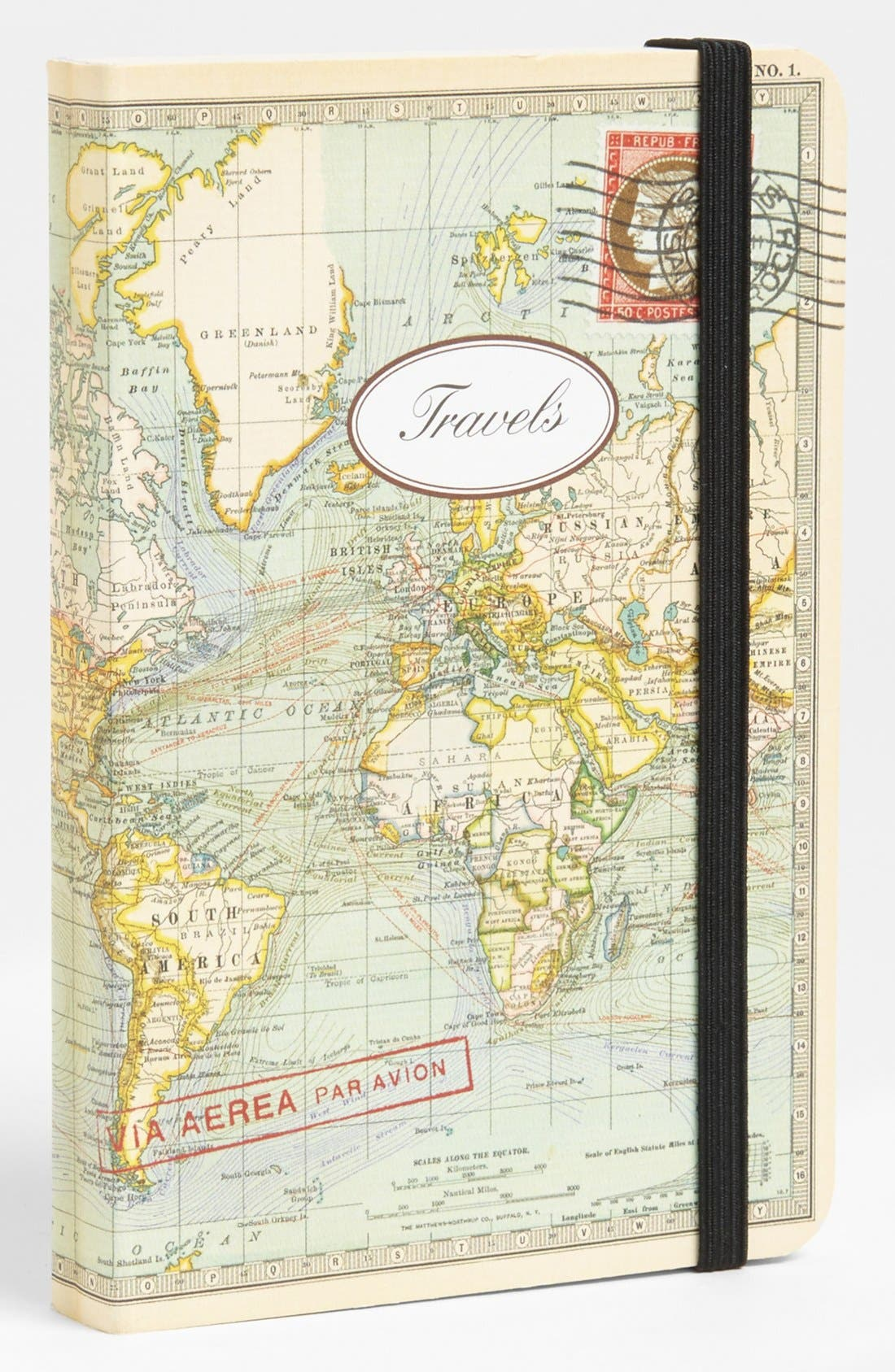 Main Image - Vintage Print Notebook