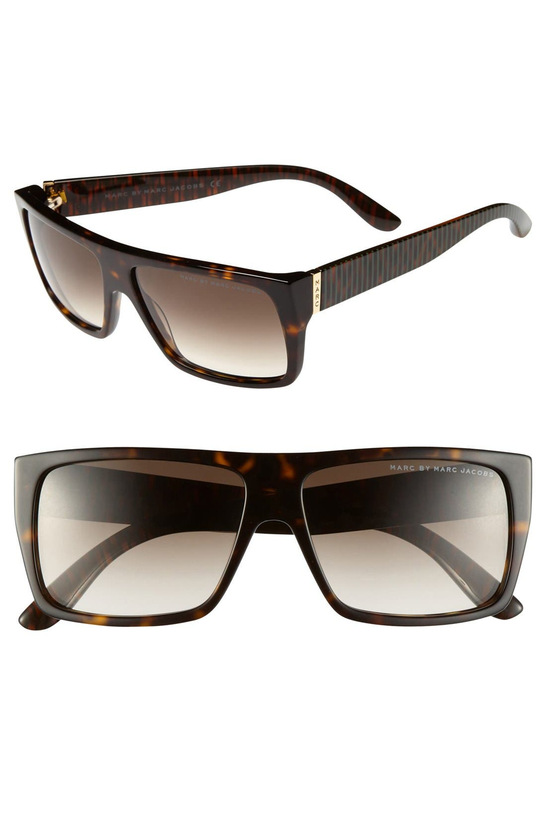 Alternate Image 1 Selected - MARC BY MARC JACOBS 57mm Sunglasses