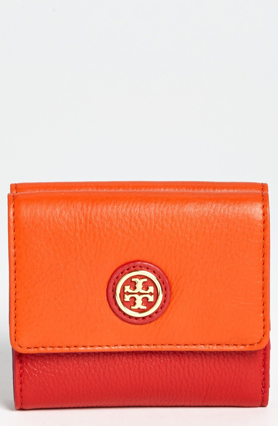 Alternate Image 1 Selected - Tory Burch 'Clay' Double Flap French Wallet