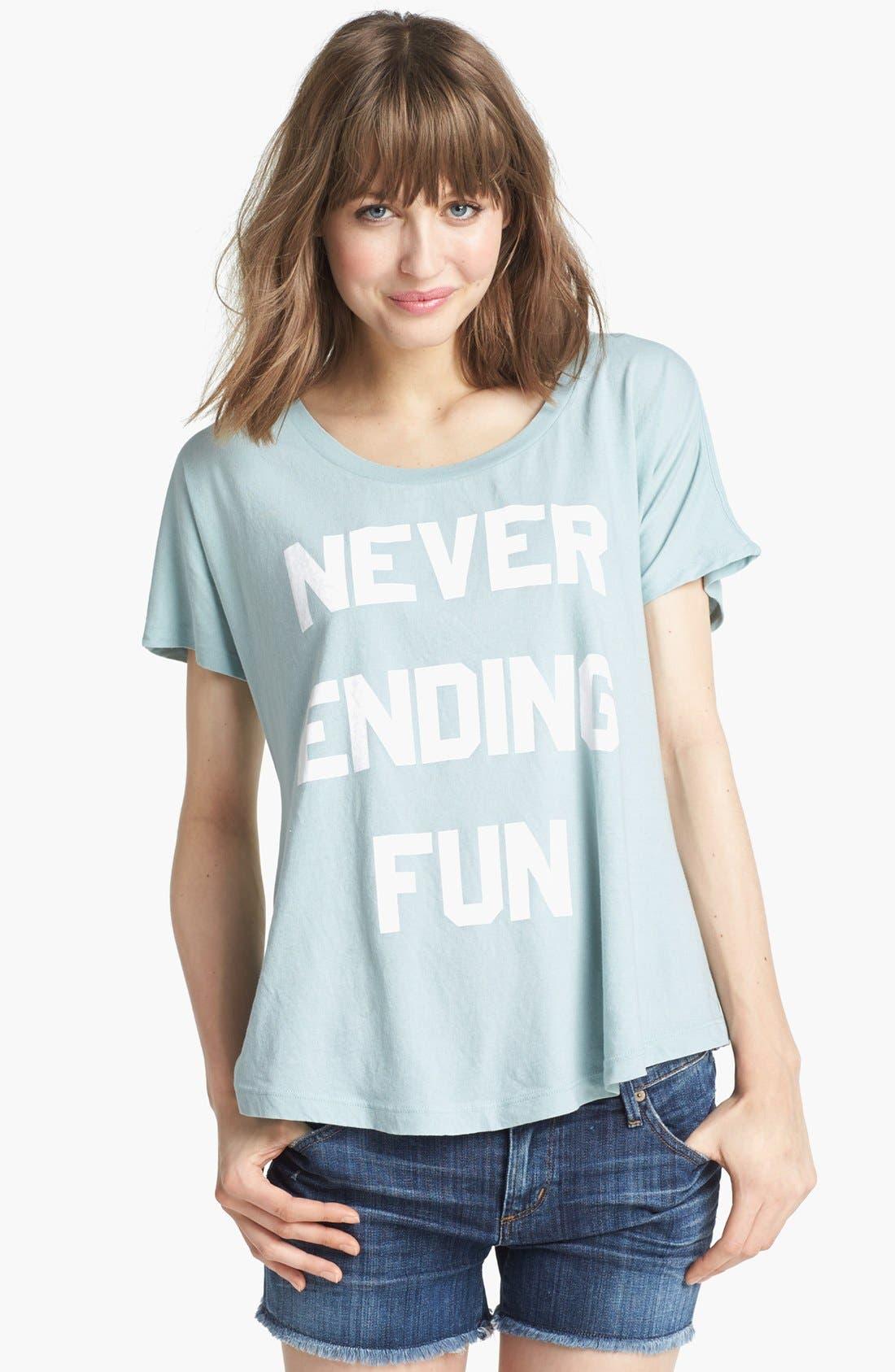 Main Image - Wildfox 'Never Ending Fun' Tee