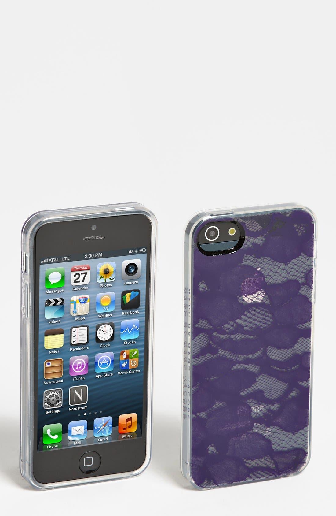 Main Image - MARC BY MARC JACOBS 'Burnout Lace' iPhone 5 & 5S Case