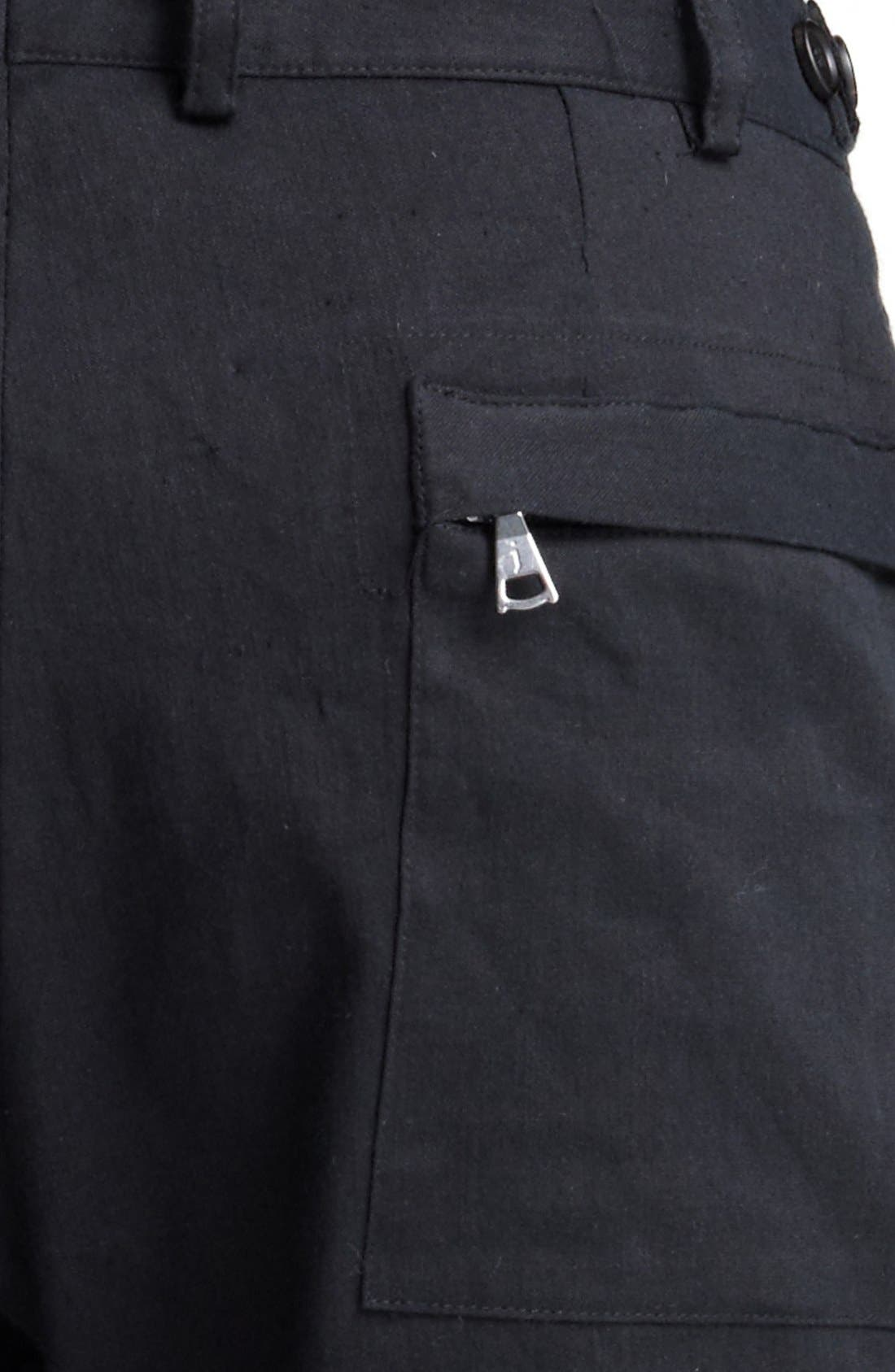 Alternate Image 4  - John Varvatos Collection Slim Fit Cargo Pants
