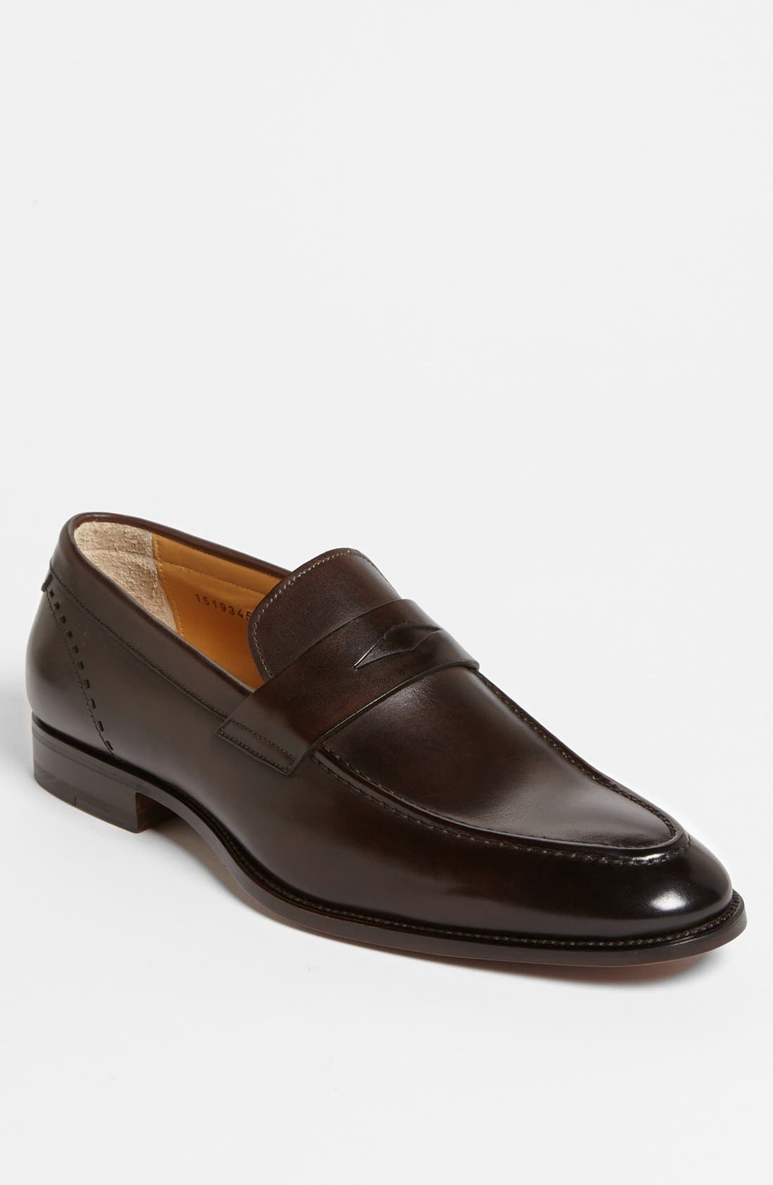 Alternate Image 1 Selected - Santoni 'Patrick' Penny Loafer