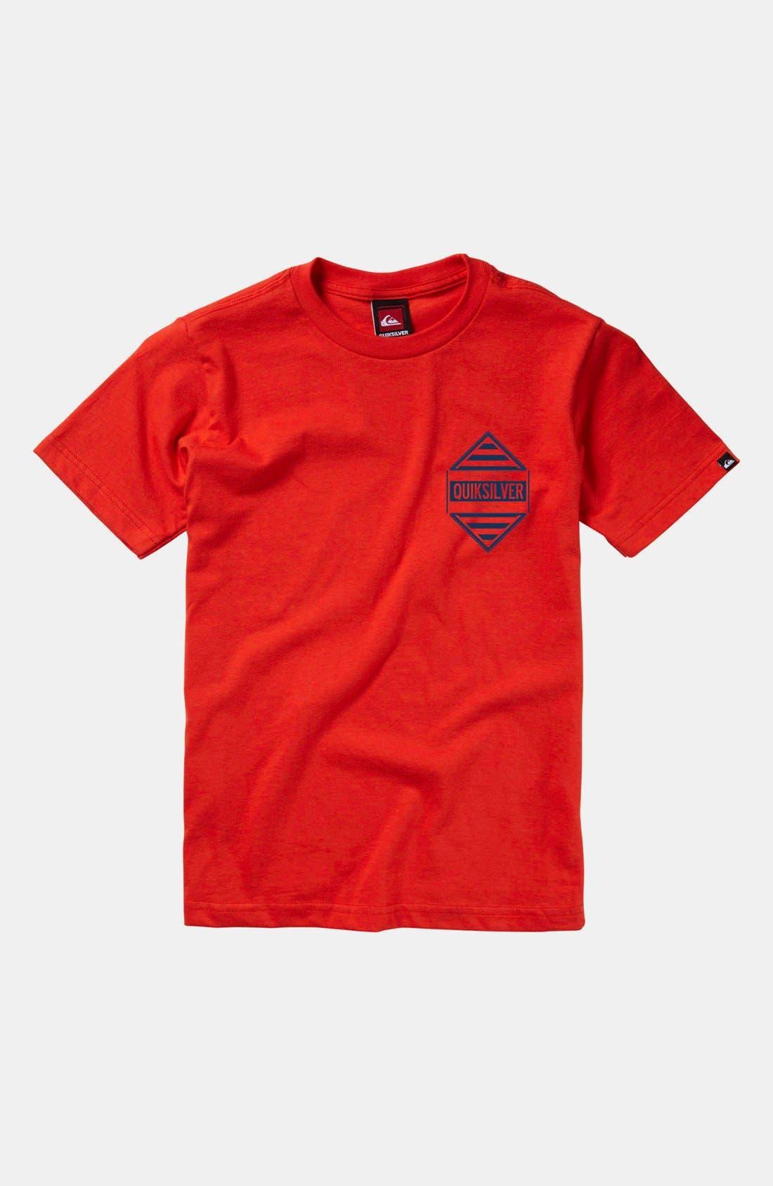 Alternate Image 1 Selected - Quiksilver 'Answer' T-Shirt (Little Boys & Big Boys)