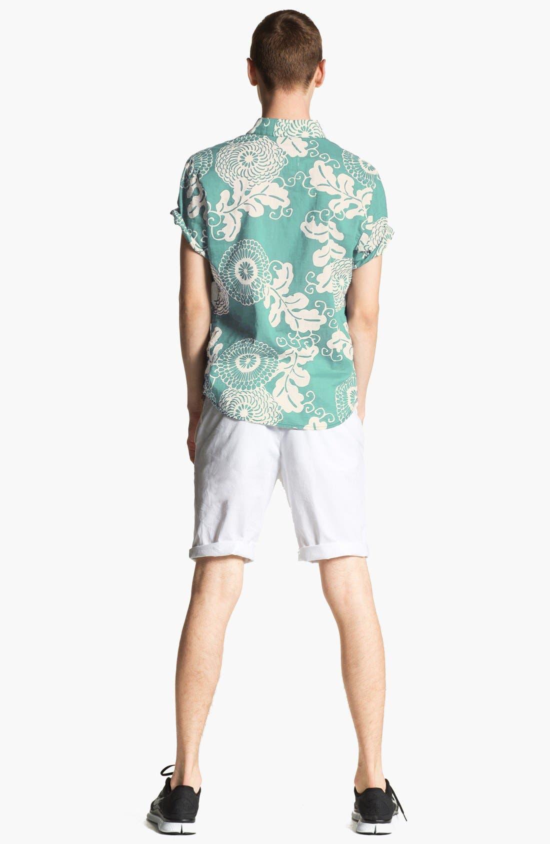 Alternate Image 5  - life/after/denim Print Cotton Shirt