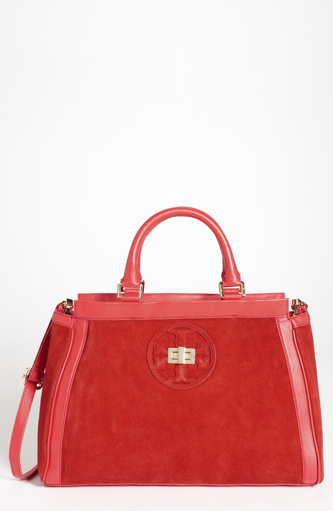 Main Image - Tory Burch 'Gloria' Satchel