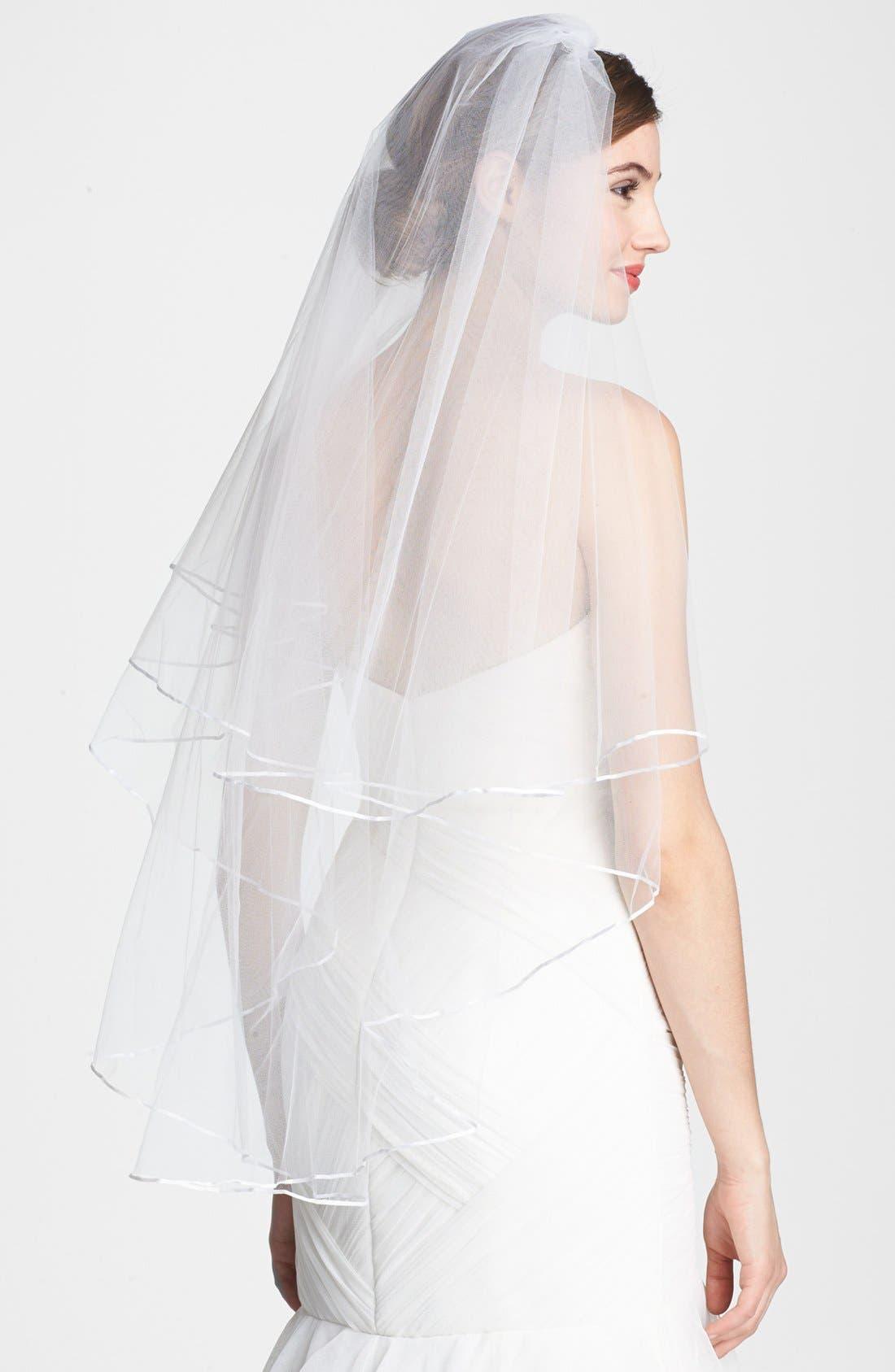 Alternate Image 1 Selected - Nina 'Adrienne' Double Tier Veil